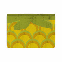"Kathleen Kelly ""Pineapple"" Digital Food Memory Foam Bath Mat"
