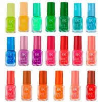 20 colors series of Fluorescent Neon Luminous Gel Nail Polish for Glow in Dark  F76