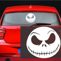 Jack Skellington - Nightmare Before Hallowee Christmas Decal Sticker for Window Wall Car Room