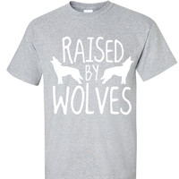 Raised By Wolves shirt