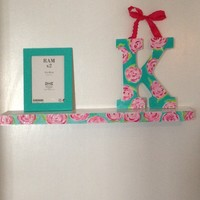 Lilly Pulitzer Inspired First Impressions Shelf