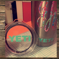 Yeti Lid & Cup Decal