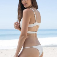 Skye & Staghorn - Montego String Bottom | White