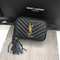 ysl women leather shoulder bags satchel tote bag handbag shopping leather tote crossbody satchel shouder bag 40