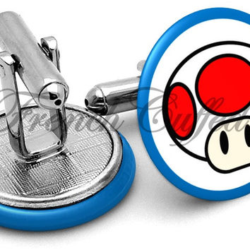 Toad Logo Cufflinks