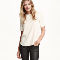 Blouse with Studs - from H&M