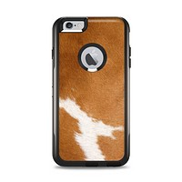 The Real Brown Cow Coat Texture Apple iPhone 6 Plus Otterbox Commuter Case Skin Set