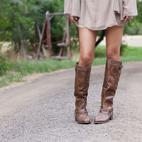Pre Sale Brown OUTLAW Riding Boots
