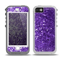 The Purple Shaded Sequence Skin for the iPhone 5-5s OtterBox Preserver WaterProof Case