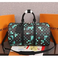 LV Louis Vuitton Women Fashion Shopping Leather Satchel Shoulder Bag Handbag Crossbody Discount Bags travel bag