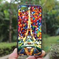 Colorful Eiffel Tower,iphone 5s case,iphone 4 case,iPhone4s case, iphone 5 case,iphone 5c case,Gift,Personalized,water proof