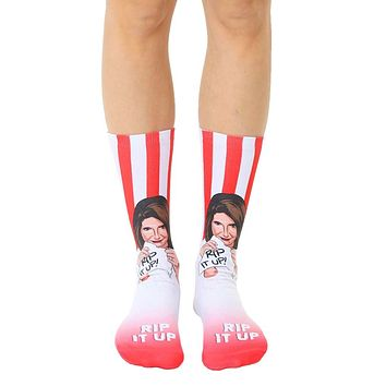 Nancy Pelosi Rip Crew Socks