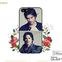 Ian Somerhalder Phone Cases, iPhone 5/5S Case, iPhone 5C Case, iPhone 4/4S Case, Galaxy S3 S4 S5 Note 2 Note 3 Case for iPhone-B0152