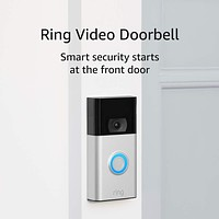 Ring Video Doorbell – 1080p HD video, improved motion detection