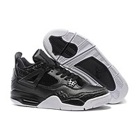 Air Jordan retro IV laser 4 glow mens cheap basketball shoes sneakers