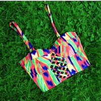 Set Me Free Bustier - $44
