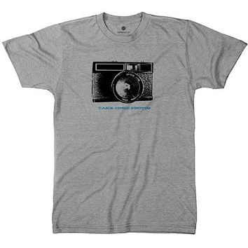 Take More Pictures 2 Tri-Grey T-Shirt