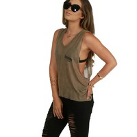 Taupe Sold Out Tank Top