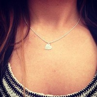 Silver Heart Charm Necklace from Southern Charm