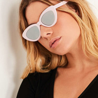 Extreme Angle Cat-Eye Sunglasses   Urban Outfitters