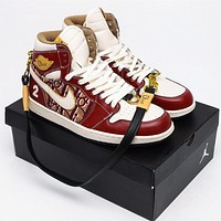 DIOR x Nike Air Jordan 1 High OG Sneaker