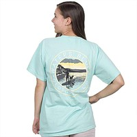 Stand Up Tee Shirt in Island Reef by Waters Bluff