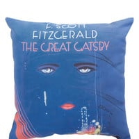 Nifty Nerd Book Club Cozy Pillow in Jay by ModCloth