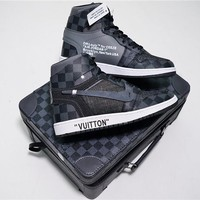 Louis Vuitton x Air Jordan 1 Pinnacle AO0818-001