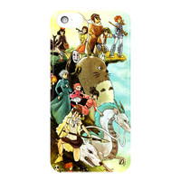 Studio Ghibli Characters For iPhone 5 / 5S / 5C Case