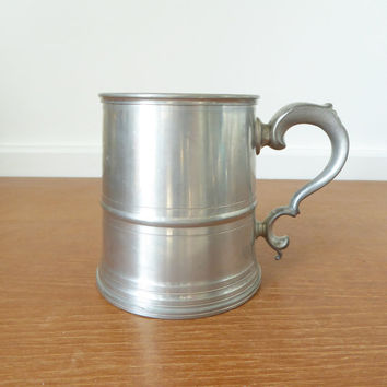 Woodbury Pewter tankard from The Henry Ford Museum