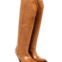VETEMENTS | High Cowboy Boots | brownsfashion.com | The Finest Edit of Luxury Fashion | Clothes, Shoes, Bags and Accessories for Men & Women