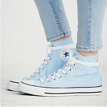 """Converse"" men and women tide fashion canvas flats sports shoes F"