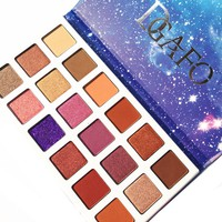 DGAFO 18 Color In 1 Shimmer Matte Makeup Palette Eyeshadow Professional Brand Make Up Maquillage Eye Shadow Palette
