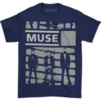 Muse Men's  One Shade Of Grey T-shirt Purple