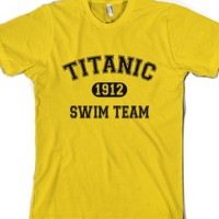 Titanic Swim Team-Unisex Gold T-Shirt
