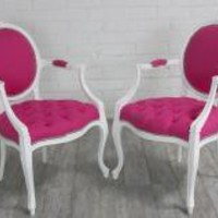 www.roomservicestore.com - Victoria Dining Chair with Arms
