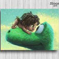 the good dinosaur print kids decor disney gifts nursery decor
