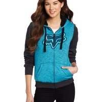 Fox Juniors Unparalleled Sherpa Top, Blue, Large