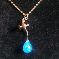 Aladdin Genie Inspired Necklace by BeautifulBaublesSC on Etsy