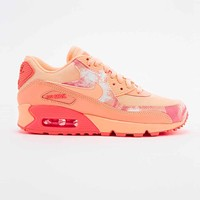 Nike Air Max 90 Printed Trainers in Coral - Urban Outfitters