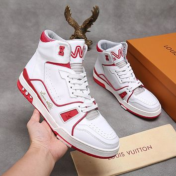 lv louis vuitton womans mens 2020 new fashion casual shoes sneaker sport running shoes 147