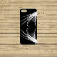 iphone 5C case,iphone 5S case,iphone 5S cases,iphone 5C cover,cute iphone 5S case,cool iphone 5S case,iphone 5C case,X-Ray Heart,in plastic.