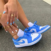 Nike Air Jordan Mid low-top casual sports basketball shoes sneakers shoes