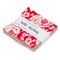 Hello Darling Charm Pack by Bonnie and Camille for Moda, 5-inch squares
