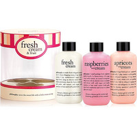 Philosophy Fresh Cream & Fruit Trio | Ulta Beauty