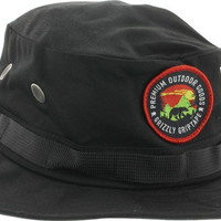 Grizzly Outdoor Goods Fisherman Hat Black
