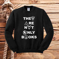 They Are Not Only Books sweater unisex adults