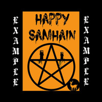 Samhain Greeting Card, Halloween, Wicca, Wiccan, Witch
