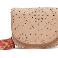 TOMS vachetta patterned perforated leather jetset hip pack
