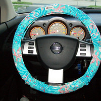 Lilly Pulitzer Steering Wheel Cover by mammajane on Etsy